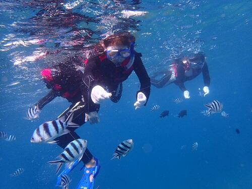 沖縄シュノーケルツアーはほぼ貸切で楽しめる「シーパーク北谷」へ!