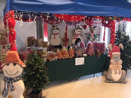 クリスマスの沖縄北谷のうみんちゅワーフ
