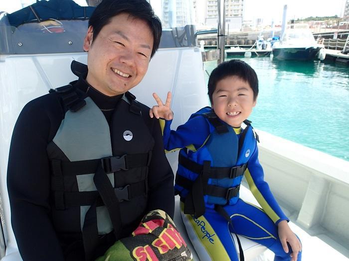 沖縄 シュノーケル ボート