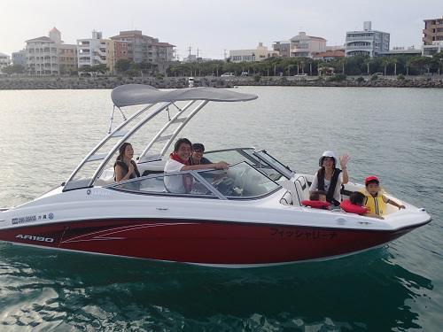 沖縄北谷 クルージング 操船