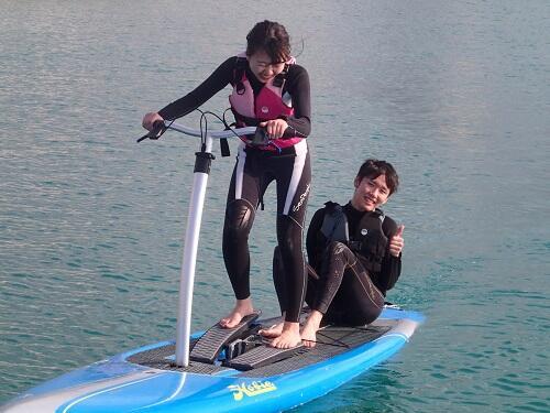 マリンアクテビティ『サップ・SUP』を沖縄で体験!子供からおじいちゃんおばあちゃんも泳げない方も楽しめる!