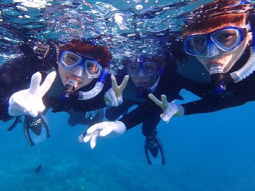 沖縄『シュノーケル』!泳げない、不安がある方も楽しめる?シーパーク北谷