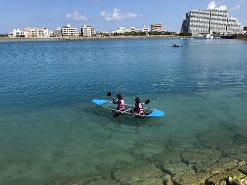 カップル必見!沖縄海上デートにおすすめマリンスポーツご紹介!『シーパーク北谷』