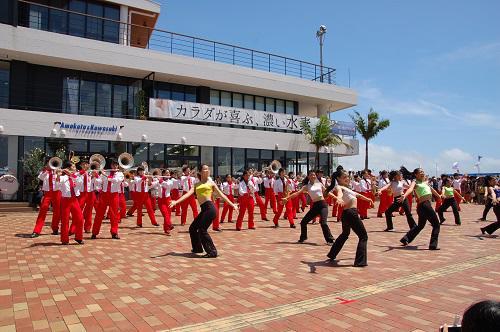 沖縄 ブラスバンド.JPG