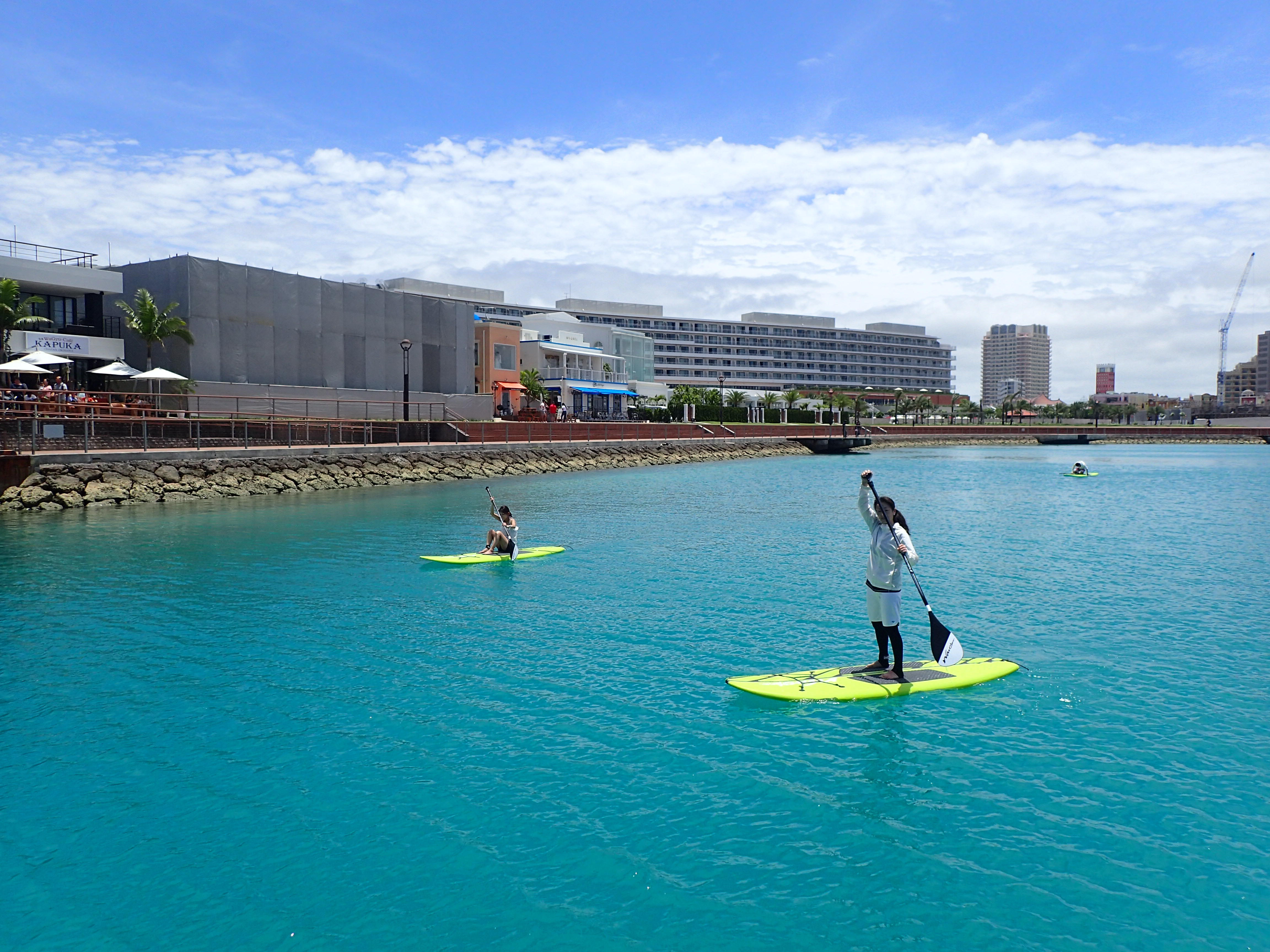 子供からご年配の方まで安心して楽しめる新しい海のスポーツ