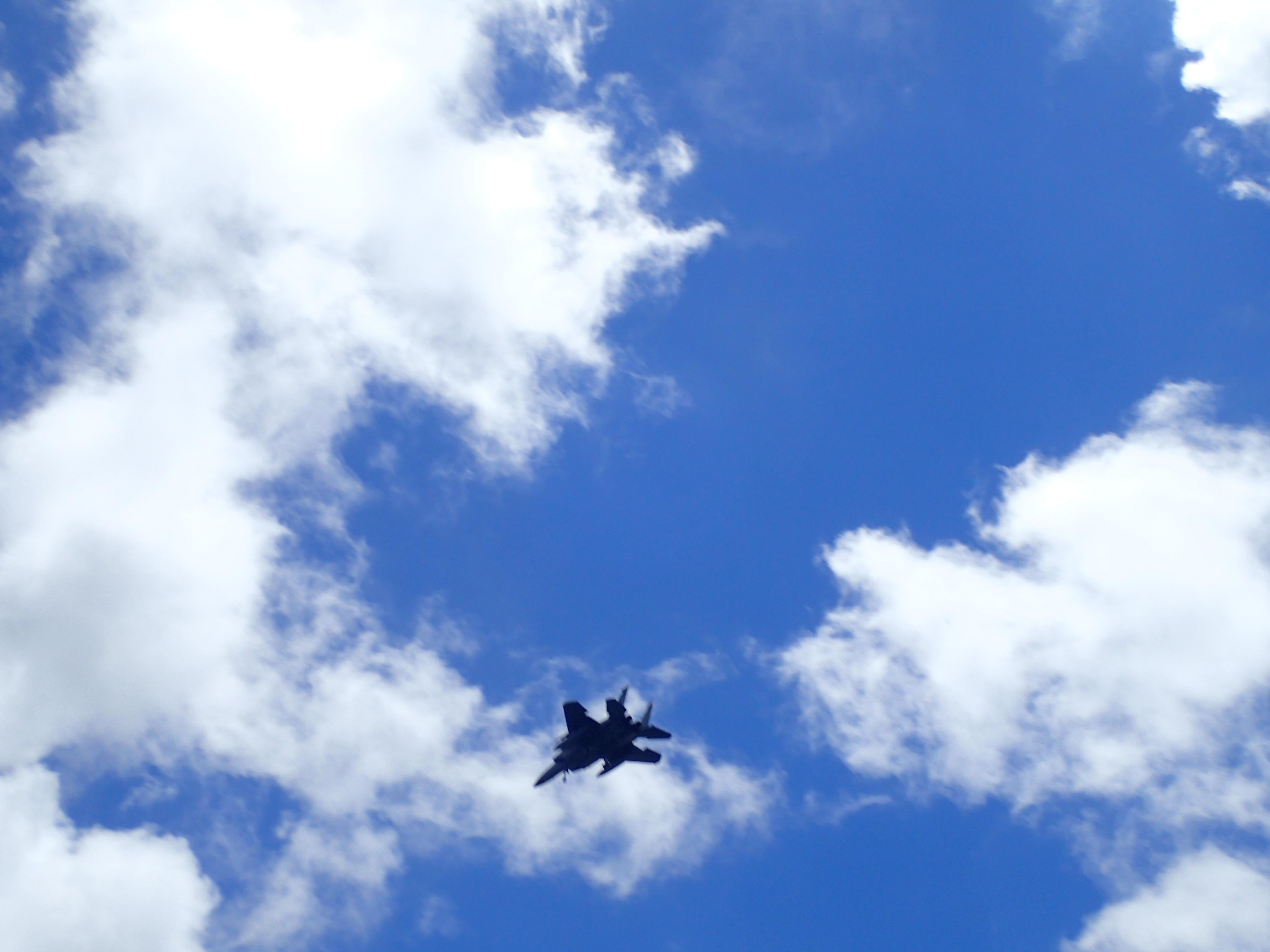 船上から戦闘機の撮影!ここでしかできない撮影です!